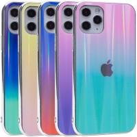 "TPU+Glass чехол Gradient Aurora с лого для Apple iPhone 11 Pro (5.8"")"