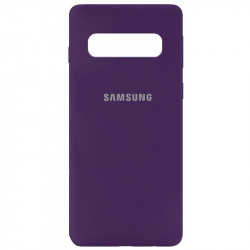 Уценка Чехол Silicone Cover My Color Full Protective (A) для Samsung Galaxy S10