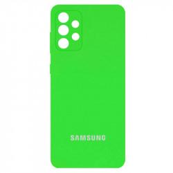 Уценка Чехол Silicone Cover Full Camera (AA) для Samsung Galaxy A72 4G / A72 5G
