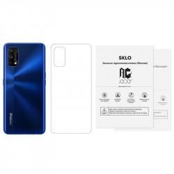 Защитная гидрогелевая пленка SKLO (тыл) (тех.пак) для Realme X7 Pro