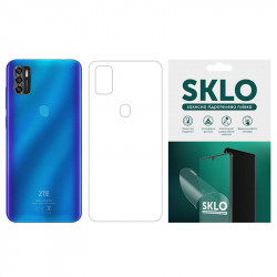 Защитная гидрогелевая пленка SKLO (тыл) для ZTE Axon 10 Pro