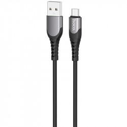 "Дата кабель Hoco U80 ""Cool silicone"" MicroUSB (1М)"