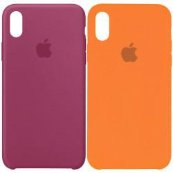 "Уценка Чехол Silicone Case (AA) для Apple iPhone X (5.8"") / XS (5.8"")"