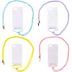 "Чехол TPU Crossbody Transparent для Apple iPhone 7 / 8 / SE (2020)(4.7"")"