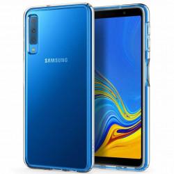 Уценка TPU чехол Epic Transparent 1,0mm для Samsung A750 Galaxy A7 (2018)