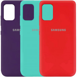 Чехол Silicone Cover My Color Full Protective (A) для Samsung Galaxy A41