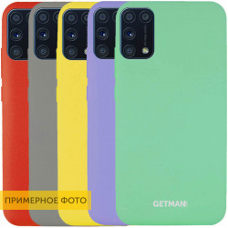 Чехол Silicone Cover GETMAN for Magnet для Samsung Galaxy A31
