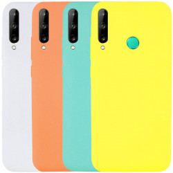 Чехол Silicone Cover Full without Logo (A) для Huawei P40 Lite E / Y7p (2020)