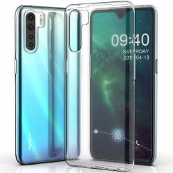 TPU чехол Epic Transparent 1,0mm для Oppo Reno 3
