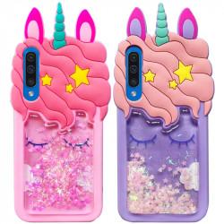 Силиконовый чехол Unicorn 3D для Samsung Galaxy A50 (A505F) / A50s / A30s