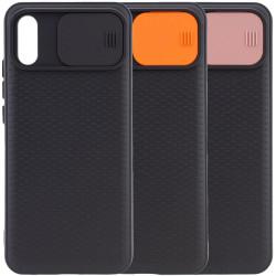 Чехол Camshield Black TPU со шторкой защищающей камеру для Xiaomi Redmi 9A