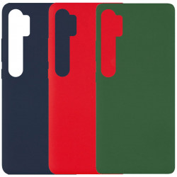 Чехол Silicone Cover Full without Logo (A) для Xiaomi Mi Note 10 Lite / Mi Note 10 / Note 10 Pro