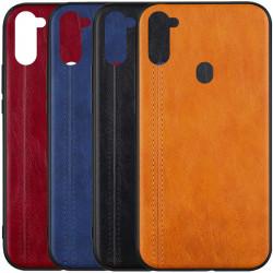 Кожаный чехол Line для Samsung Galaxy A11