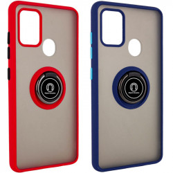 TPU+PC чехол Deen ColorEdgingRing for Magnet для Samsung Galaxy M31
