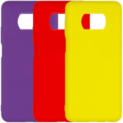 Чехол Silicone Cover Full without Logo (A) для Xiaomi Poco X3 NFC / Poco X3 Pro