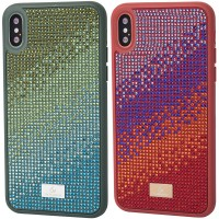 "TPU чехол Bling World Rainbown Design для Apple iPhone X / XS (5.8"")"