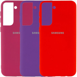 Чехол Silicone Cover My Color Full Protective (A) для Samsung Galaxy S21