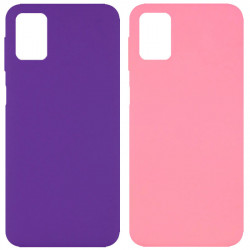 Чехол Silicone Cover Full without Logo (A) для Samsung Galaxy M31s