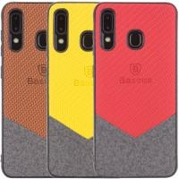 TPU чехол Baseus Сolor textile для Samsung Galaxy A20 / A30