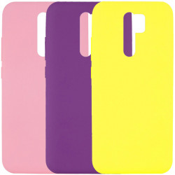 Чехол Silicone Cover Full without Logo (A) для Xiaomi Redmi 9