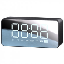 Bluetooth колонка + часы Usams US-YX007 FM-Tuner AUX BT5.0