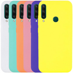 Чехол Silicone Cover Full without Logo (A) для Huawei Y6p