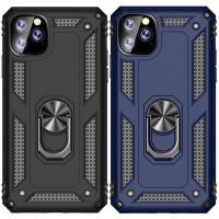 """Ударопрочный чехол Serge Ring магнитный держатель для Apple iPhone 11 Pro Max (6.5"""")"""