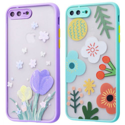 "TPU+PC чехол Picture Color Buttons для Apple iPhone 7 plus / 8 plus (5.5"")"