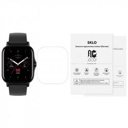 Защитная гидрогелевая пленка SKLO (экран) 40шт. (тех.пак) для Xiaomi Mi Watch Lite
