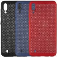 Ультратонкий дышащий чехол Grid case для Samsung Galaxy M10