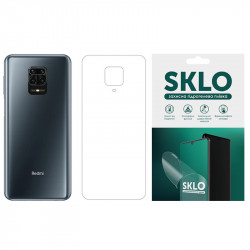 Защитная гидрогелевая пленка SKLO (тыл) для Xiaomi Redmi 9C