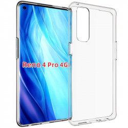 TPU чехол Epic Transparent 1,0mm для Oppo Reno 4 Pro