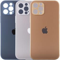 "TPU+Glass чехол Matte Candy Full camera для Apple iPhone 12 Pro Max (6.7"")"