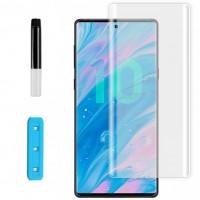Защитное 3D стекло Nano Optics с УФ лампой для Samsung Galaxy Note 10 Plus