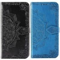 Кожаный чехол (книжка) Art Case с визитницей для Realme C2