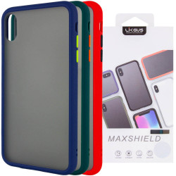 "TPU+PC чехол LikGus Maxshield для Apple iPhone X / XS (5.8"")"