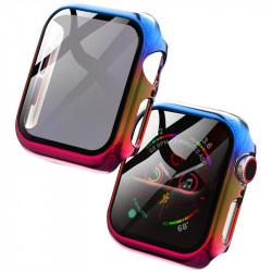 "<span class=""text-orange bold"">Серия</span> PC+Glass чехол Rainbow"