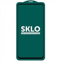 Защитное стекло SKLO 5D (full glue) (тех.пак) для Samsung Galaxy A21 /A21s