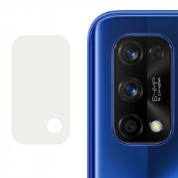 Гибкое защитное стекло 0.18mm на камеру (тех.пак) для Realme 7 Pro