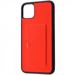 "Кожаная накладка Dux Ducis Pocard для Apple iPhone 11 Pro (5.8"")"