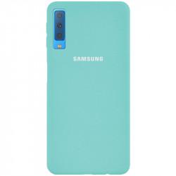 Уценка Чехол Silicone Cover Full Protective (AA) для Samsung A750 Galaxy A7 (2018)