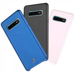 Кожаная накладка Dux Ducis для Samsung Galaxy S10