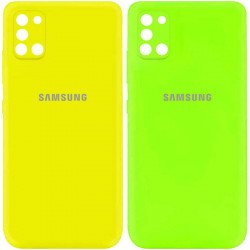 Уценка Чехол Silicone Cover My Color Full Camera (A) для Samsung Galaxy A31