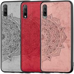 TPU+Textile чехол Mandala с 3D тиснением для Huawei Honor 9X (China)