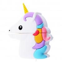 Силиконовый футляр Unicorn series для наушников AirPods 1/2