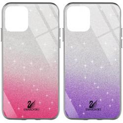 "TPU+Glass чехол Swarovski для Apple iPhone 12 Pro / 12 (6.1"")"
