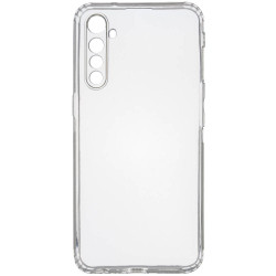 TPU чехол GETMAN Transparent 1,0 mm для Realme XT
