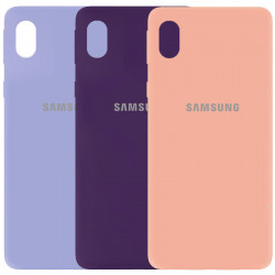 Чехол Silicone Cover My Color Full Protective (A) для Samsung Galaxy M01 Core / A01 Core