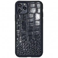 "Кожаный чехол Сrocodile leather series для Apple iPhone 11 Pro Max (6.5"")"