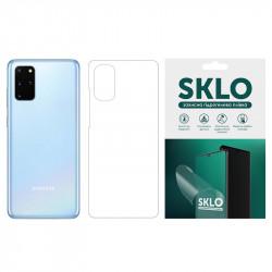Защитная гидрогелевая пленка SKLO (тыл) для Samsung G615 Galaxy J7 Max
